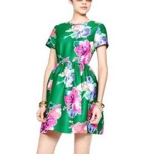 Kate Spade Stelli Dress In Floral Green 12